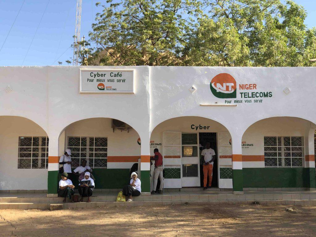 Salle informatique sur le campus de l'université abdou moumouni de Niamey, NIGER, NIGER TELECOMS